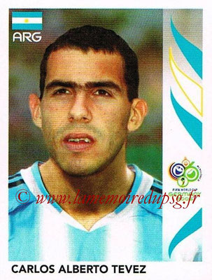 2006 - Panini FIFA World Cup Germany Stickers - N° 187 - Carlos Alberto TEVEZ (Argentine)