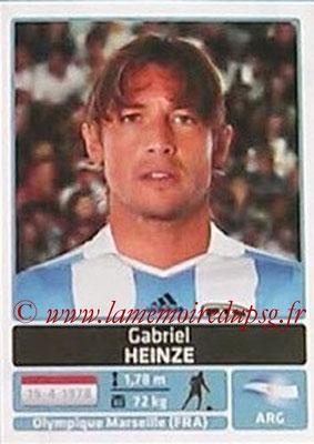 N° 027 - Gabriel HEINZE (2001-04, PSG > 2011, Argentine)