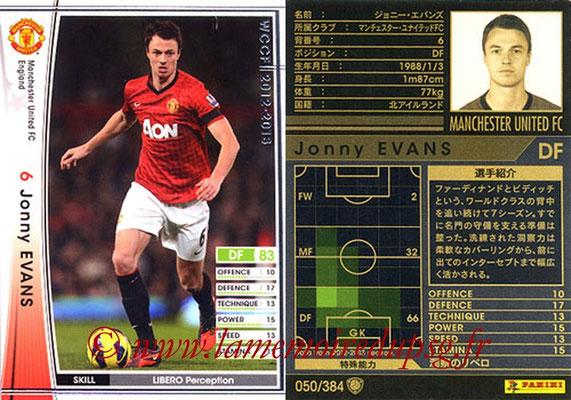2012-13 - WCCF - N° 050 - Jonny EVANS (Manchester United FC)