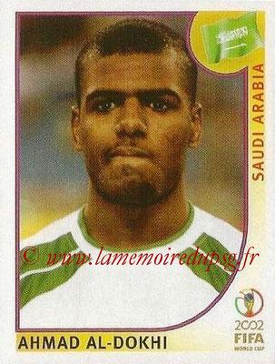 2002 - Panini FIFA World Cup Stickers - N° 339 - Ahmad AL-DOKHI (Arabie Saoudite)