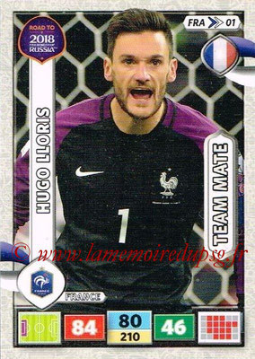 2018 - Panini Road to FIFA World Cup Russia Adrenalyn XL - N° FRA01 - Hugo LLORIS (France)