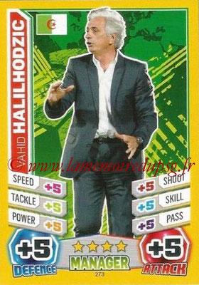 N° 372 - Vahid HALILHODZIC (1986-87, PSG > 2003-Fév 05, Entraîneur PSG > 2010, Entraîneur Algérie)
