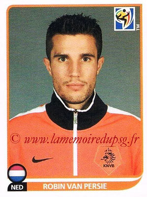 2010 - Panini FIFA World Cup South Africa Stickers - N° 350 - Robin VAN PERSIE (Pays Bas)