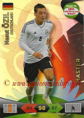 2014 - Panini Road to FIFA World Cup Brazil Adrenalyn XL - N° 224 - Mesut OZIL (Allemagne) (Master)