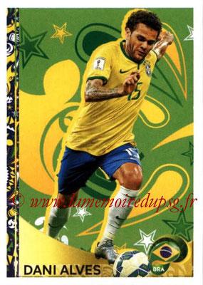 Panini Copa America Centenario USA 2016 Stickers - N° 403 - Dani ALVES (Bresil) (En action)