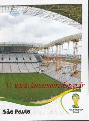 2014 - Panini FIFA World Cup Brazil Stickers - N° 031 - Arena Corinthians - Sao Paulo (2)
