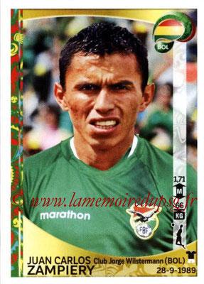 Panini Copa America Centenario USA 2016 Stickers - N° 386 - Juan Carlos ZAMPIERY (Bolivie)