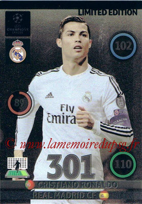 2014-15 - Adrenalyn XL champions League Update edition N° LEU-CR - Cristiano RONALDO (Real Madrid) (Limited Edition)