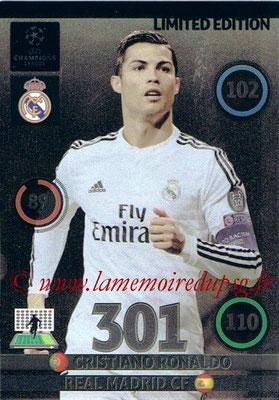 2014-15 - Adrenalyn XL champions League Update edition N° LEU-CR - Cristiano RONALDO (Real Madrid) (Limited Edition)