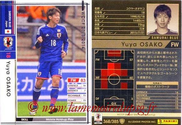 2013-14 - WCCF - N° 368 - Yuya OSAKO (Japon)