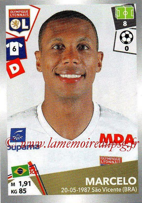 2017-18 - Panini Ligue 1 Stickers - N° 186 - MARCELO (Lyon)