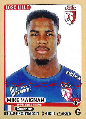 2015-16 - Panini Ligue 1 Stickers - N° 146 - Mike MAIGNAN (Lille OSC)