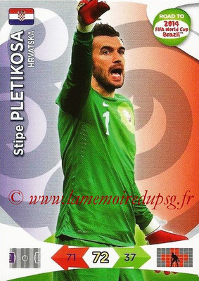 2014 - Panini Road to FIFA World Cup Brazil Adrenalyn XL - N° 100 - Stipe PLETIKOSA (Croatie)