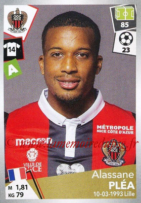 2017-18 - Panini Ligue 1 Stickers - N° 357 - Alassane PLEA (Nice)