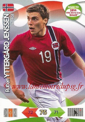 2014 - Panini Road to FIFA World Cup Brazil Adrenalyn XL - N° 146 - Ruben YTTERGARD JENSSEN (Norvège)