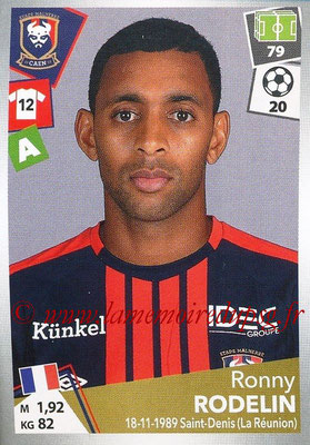 2017-18 - Panini Ligue 1 Stickers - N° 097 - Ronny RODELIN (Caen)