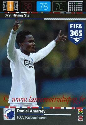 2015-16 - Panini Adrenalyn XL FIFA 365 - N° 379 - Daniel AMARTEY (FC Copenhague) (Rising Star) (Nordic Edition)
