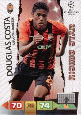 2011-12 - Panini Champions League Cards - N° 242 - Douglas  COSTA(Shakhtar Donetsk) (Rising Star)