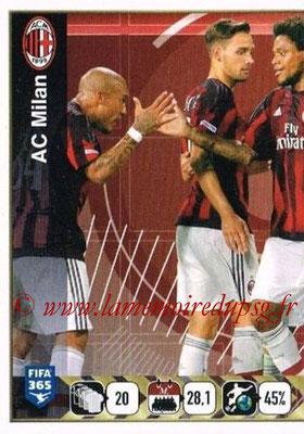 2015-16 - Panini FIFA 365 Stickers - N° 597 - Equipe Milan AC 1