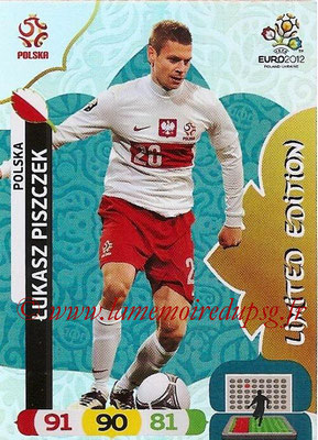 Panini Euro 2012 Cards Adrenalyn XL - N° LE34 - Lukasz PISZCZEK (Pologne) (Limited Edition)