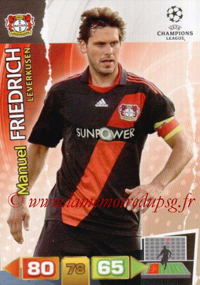 2011-12 - Panini Champions League Cards - N° 049 - Manuel FRIEDRICH (Bayer 04 Leverkusen)