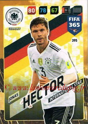 2017-18 - Panini FIFA 365 Cards - N° 395 - Jonas HECTOR (Allemagne) (International Star)