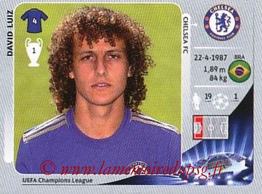 N° 306 - David LUIZ (2012-13, Chelsea, ANG > 2014-??, PSG)