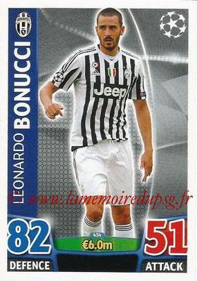 2015-16 - Topps UEFA Champions League Match Attax - N° 454 - Leonardo BONUCCI (Juventus FC)