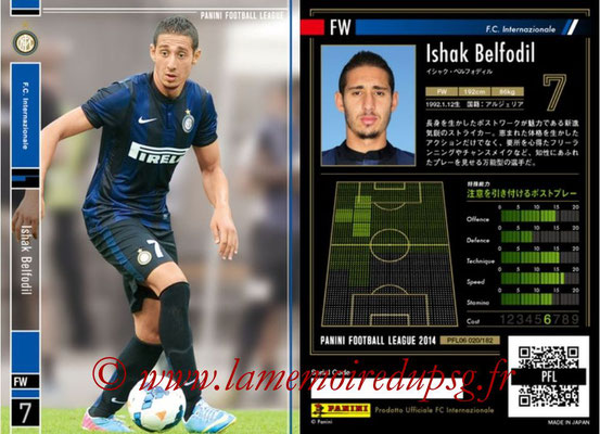 Panini Football League 2014 - PFL06 - N° 020 - Ishak BELFODIL (FC Internazionale)