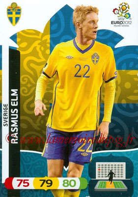Panini Euro 2012 Cards Adrenalyn XL - N° 210 - Rasmus ELM (Suède)
