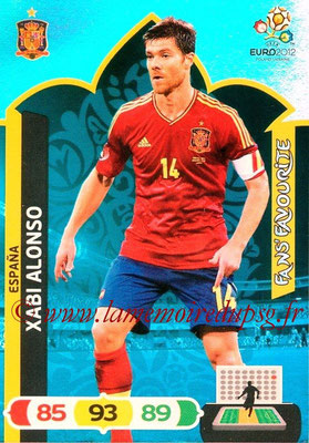 Panini Euro 2012 Cards Adrenalyn XL - N° 252 - Xabi ALONSO (Espagne) (Fans' Favourite)