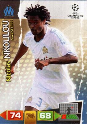 2011-12 - Panini Champions League Cards - N° 195 - Nicolas NKOULOU (Olympique de Marseille)