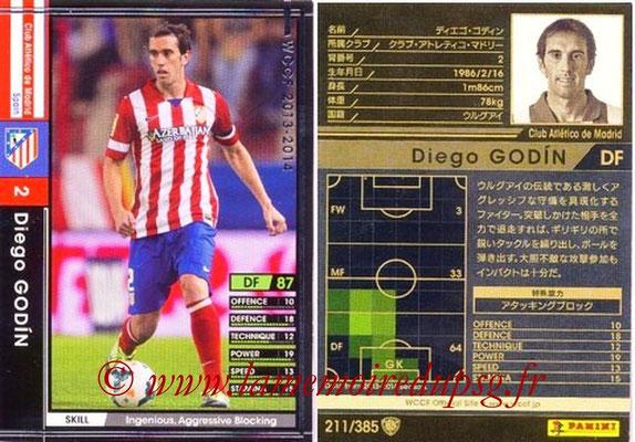 2013-14 - WCCF - N° 211 - Diego GODIN (Atletico Madrid)