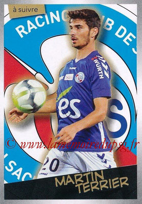 2017-18 - Panini Ligue 1 Stickers - N° 466 - Martin TERRIER (Strasbourg) (A suivre)