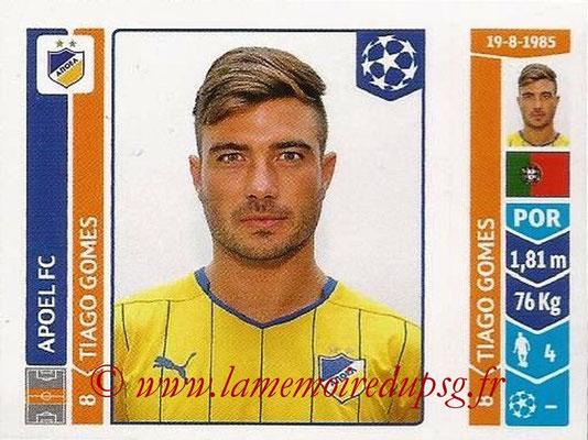 2014-15 - Panini Champions League N° 485 - Tiago GOMES (Apoel FC)
