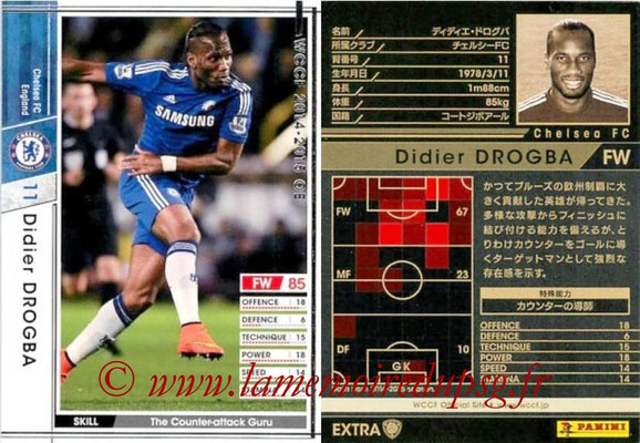 2014-15 - WCCF - N° EXT11 - Didier DROGBA (Chelsea FC) (Extra)