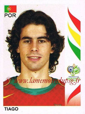 2006 - Panini FIFA World Cup Germany Stickers - N° 297 - TIAGO (Portugal)