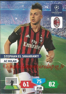 2013-14 - Adrenalyn XL champions League N° 189 - Stephan EL SHAARAWY (AC Milan)