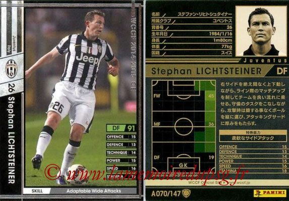 2014-15 - WCCF - N° A070 - Stephan LICHTSTEINER (Juventus FC)