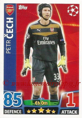 2015-16 - Topps UEFA Champions League Match Attax - N° 001 - Petr CECH (Arsenal FC)