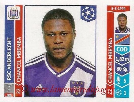 2014-15 - Panini Champions League N° 309 - Chancel MBEMBA (RSC Anderlecht)