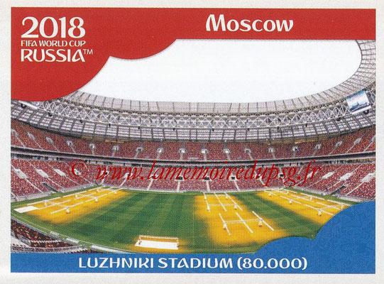 2018 - Panini FIFA World Cup Russia Stickers - N° 013 - Luzhniki Stadium, Moscou (Stades et Villes)