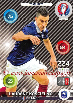 Panini Euro 2016 Cards - N° 120 - Laurent KOSCIELNY (France)