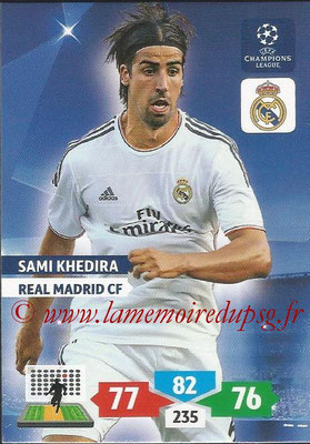 2013-14 - Adrenalyn XL champions League N° 239 - Sami KHEDIRA (Real Madrid CF)