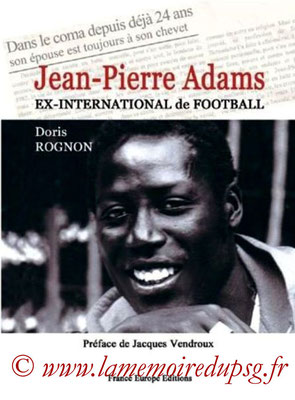 2006-10-01 - Jean-Pierre Adams (France Europe Editions, 348 pages)