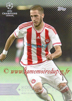 2015-16 - Topps UEFA Champions League Showcase Soccer - N° 147 - Kostas FORTOUNIS (Olympiacos FC)