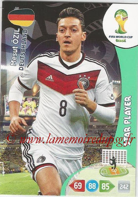2014 - Panini FIFA World Cup Brazil Adrenalyn XL - N° 112 - Mesut OZIL (Allemagne) (Star Player)