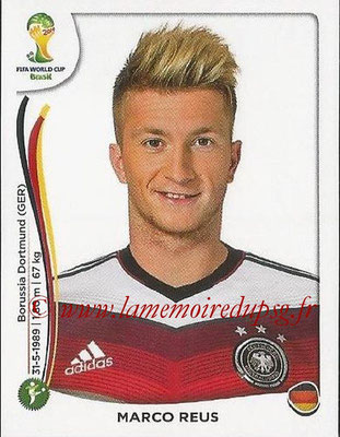2014 - Panini FIFA World Cup Brazil Stickers - N° 502 - Marco REUS (Allemagne)