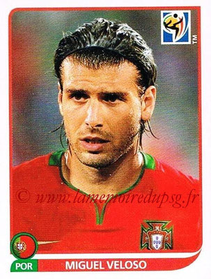 2010 - Panini FIFA World Cup South Africa Stickers - N° 555 - Miguel VELOSO (Portugal)