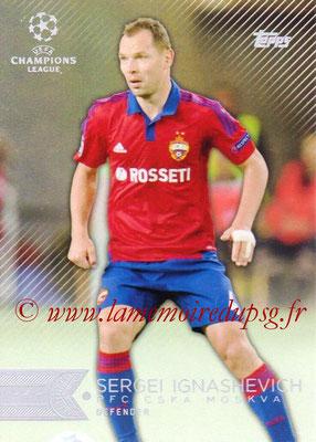 2015-16 - Topps UEFA Champions League Showcase Soccer - N° 043 - Sergei IGNASHEVICH (CSKA Moscou)